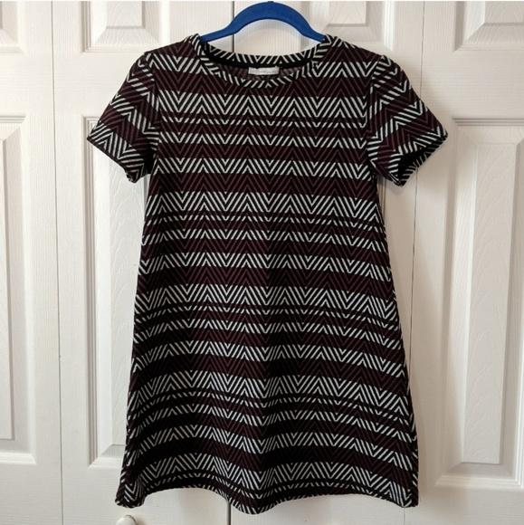 Zara Dresses & Skirts - Zara T-Shirt Tunic Mini Dress Size Small